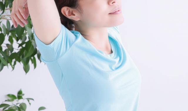 美容鍼灸あるひ背伸び画像